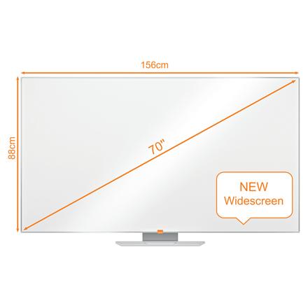 "Nobo WB tavle NanoClean widescreen 70"""