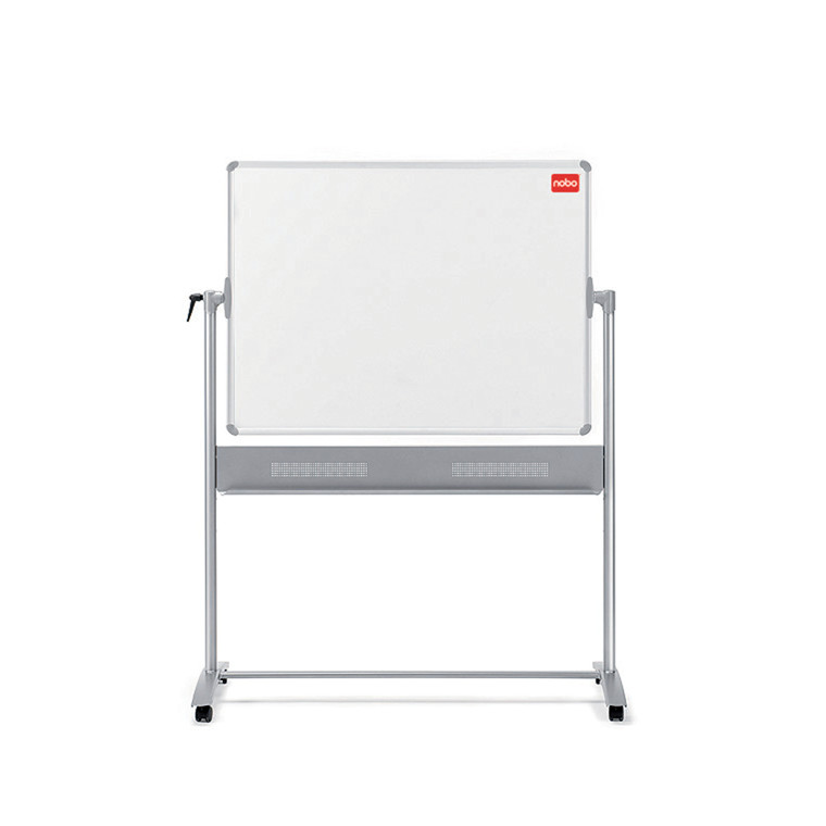 Nobo Prestige Mobil Whiteboard -  Vendbar 120 x 90 cm