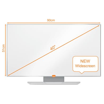 "Nobo WB tavle widescreen emaljeret 40"""