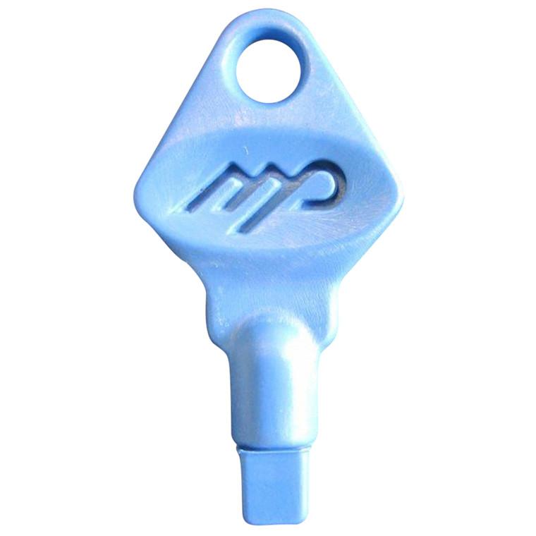 nøgle, til hvid plast dispenser, 5 stk