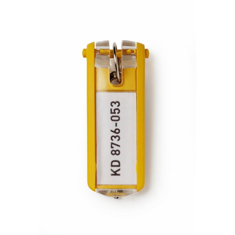 Nøglebrik til Durable Keybox - Gul farve 65 x 25 mm