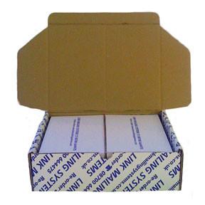 Neopost - Frankeringsetiketter kompatibel 2 labels pr. ark - 1000 labels