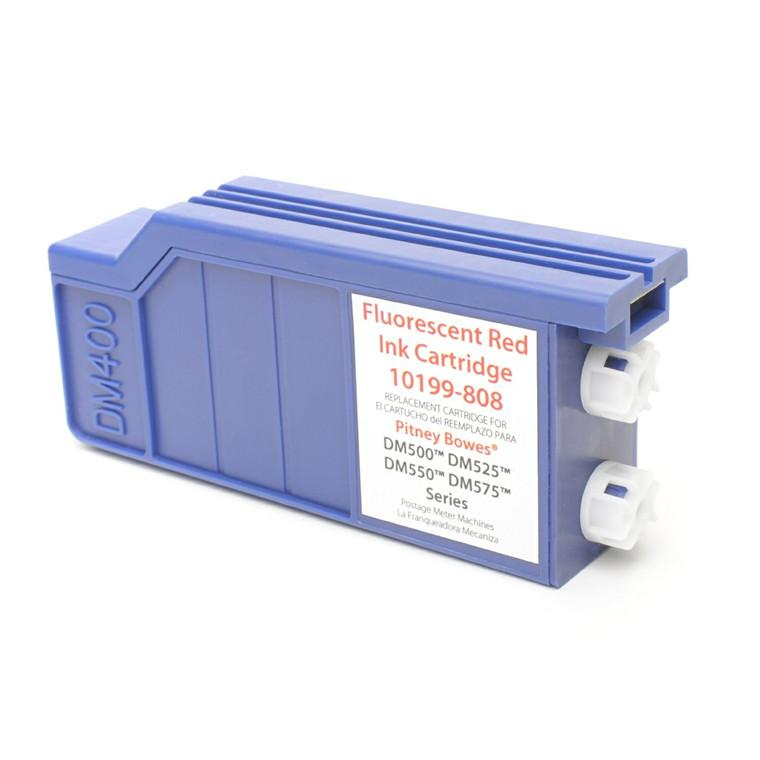 Pitney Bowes DM400-500 - kompatibel fluorescent red ink