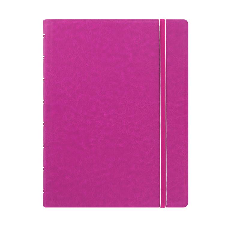 Notebook Filofax A5 fuchsia incl linierede blade