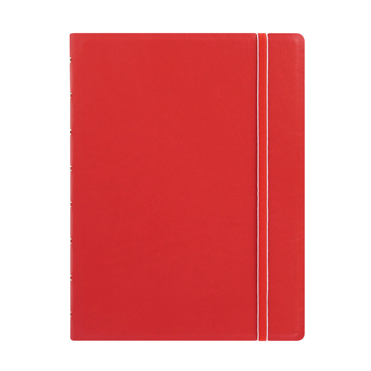 Notebook Filofax A5 rød incl linierede blade