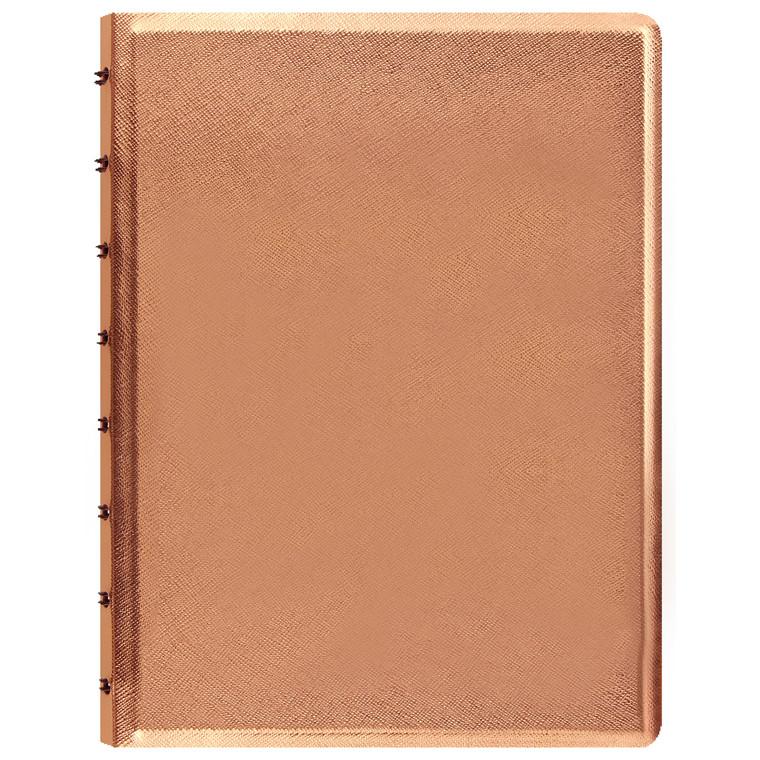 Notebook Filofax A5 rosegold incl linierede blade
