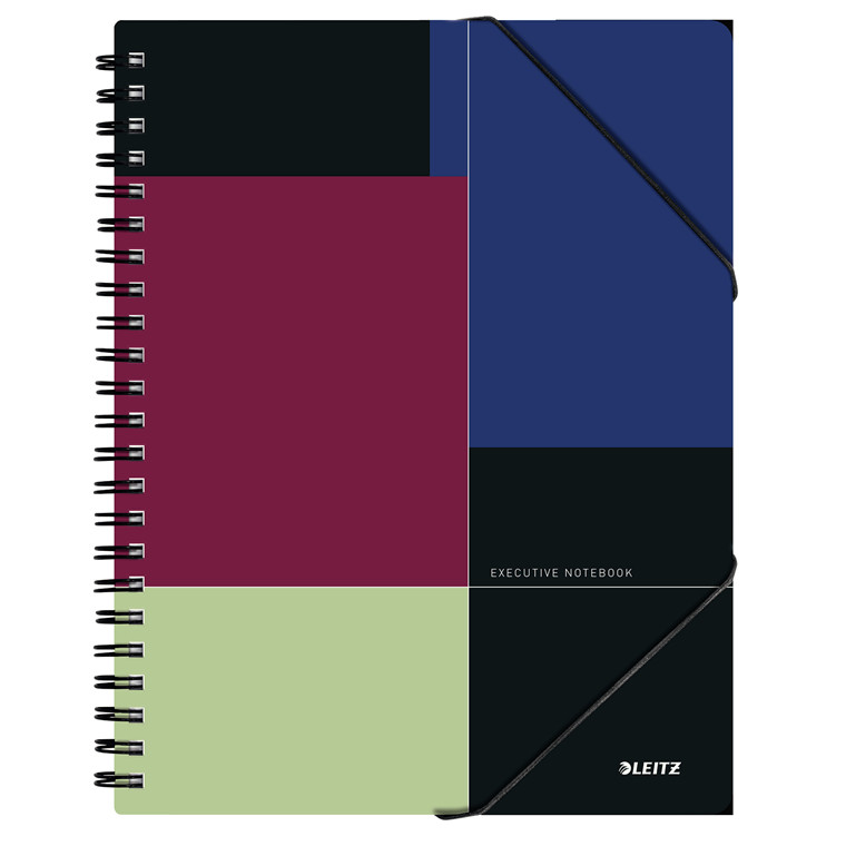 Leitz Be Mobile Notesblok Executive A4 linjeret - Wireindbundet - 80 sider