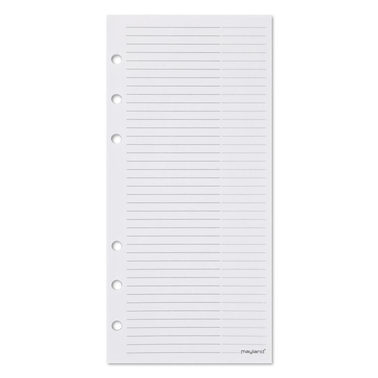 Notesblok t/personlig planner 9,5x17cm 48ark/blok 3783 00