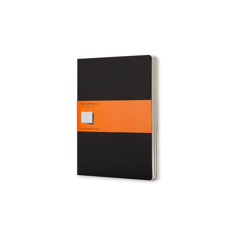 Notesbog MOLESKINE Cahier Journal linieret XL 3-pack