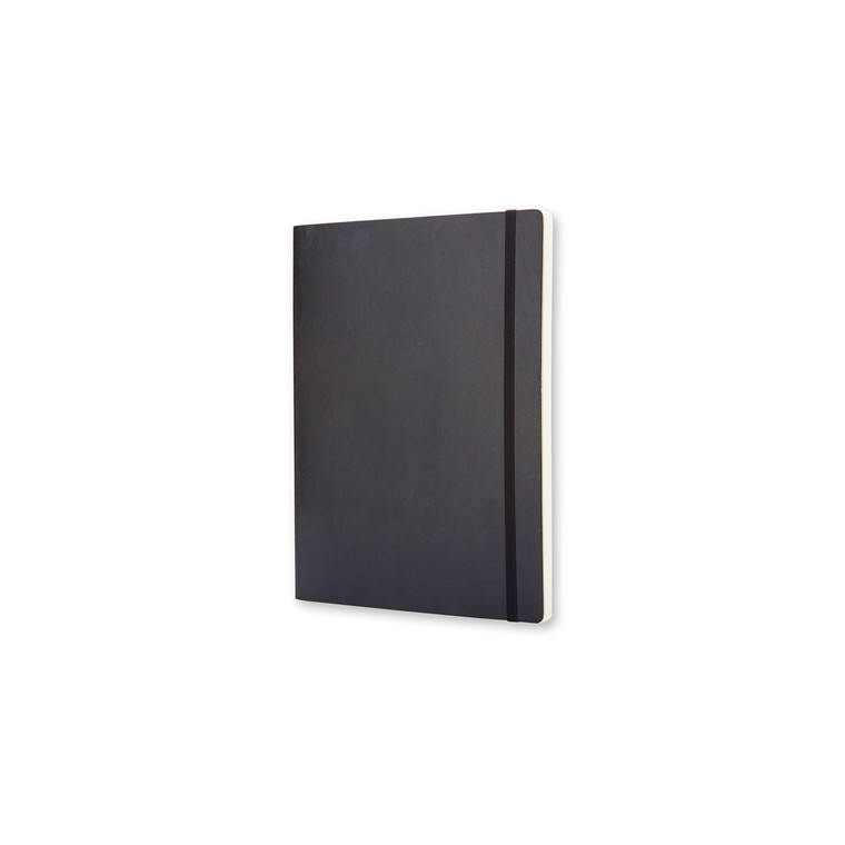 Notesbog MOLESKINE Classic soft ulinieret XL sort