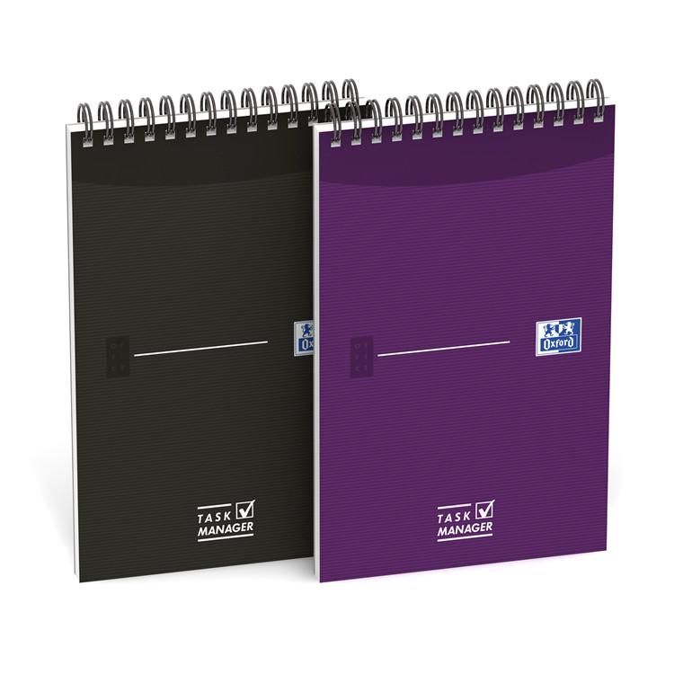 Notesbog Oxford Task Manager 125x200mm linieret