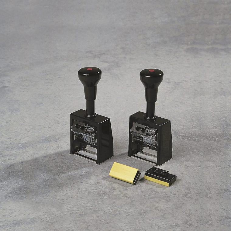 Nummeratør stempel Reiner - 6 cifre 5,5 mm B6K
