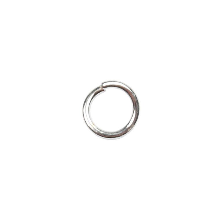 O-ring, tykkelse: 0,7 mm, indv. mål 3 mm, forsølvet, FS, 500stk.