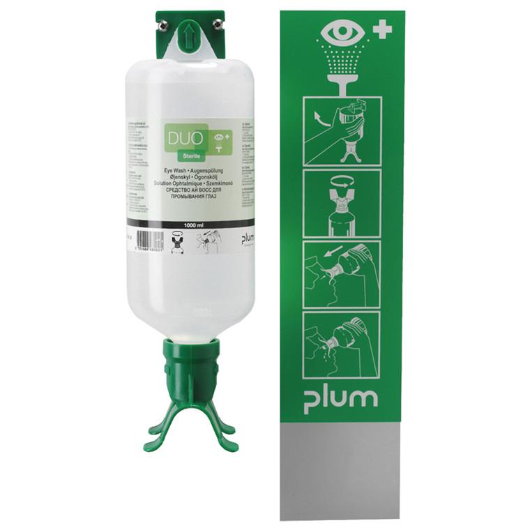 Øjenskyl, Plum, NaCI, steril, 1000 ml