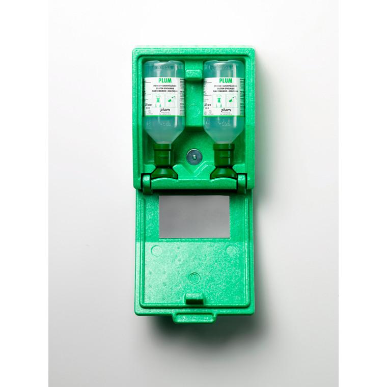 Plum 4650 Øjenskylleboks - Lukket boks med 2 x 500 ml øjneskyller