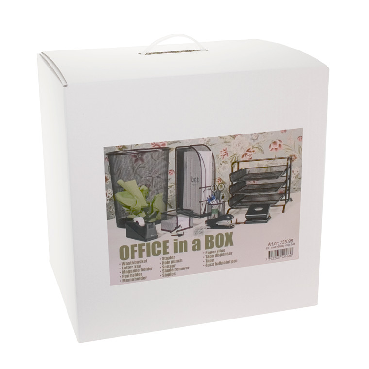 OFFICE in a BOX - Kontor startpakke