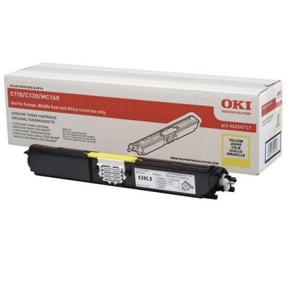 OKI C110/C130 toner yellow 1.5K