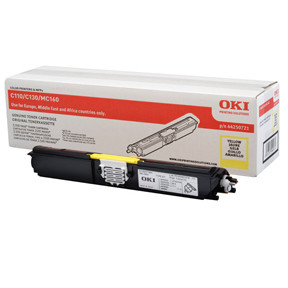 OKI C110/C130 toner yellow 2.5K
