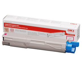 OKI C3520MFP/ MC350 toner magenta