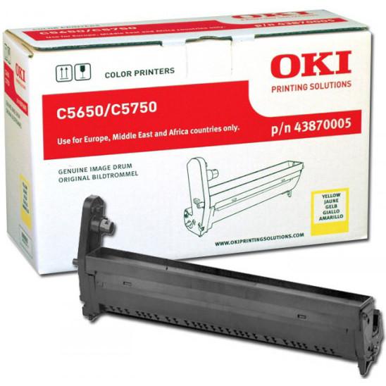 OKI C5650/5750 drum yellow 20K