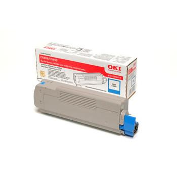 OKI C5800/C5900/5550 toner cyan 5k