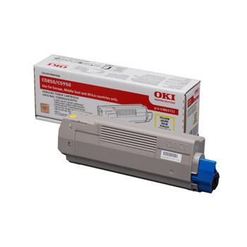 OKI C5850/5950/MC560 toner yellow 6K