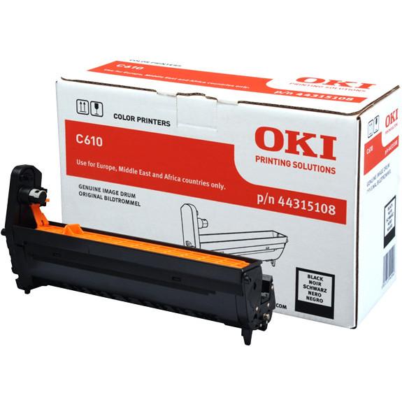 OKI C610 drum black 20K