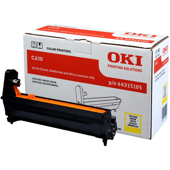 OKI C610 drum yellow 20K
