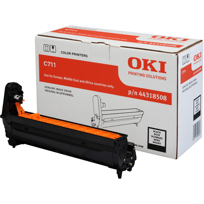 OKI C711 drum black 20K