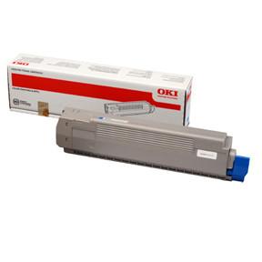 OKI C801/C821 toner cyan 7.3K