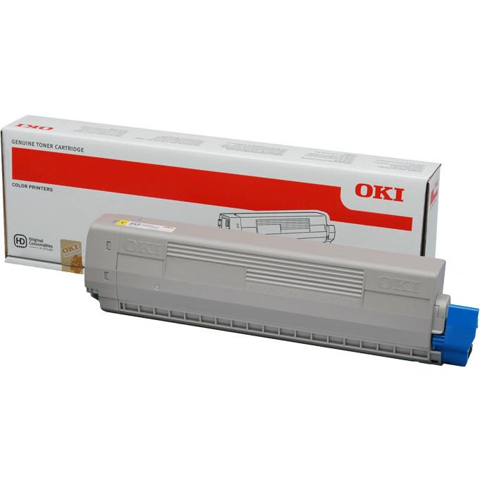 OKI C831/C841 toner yellow 10K