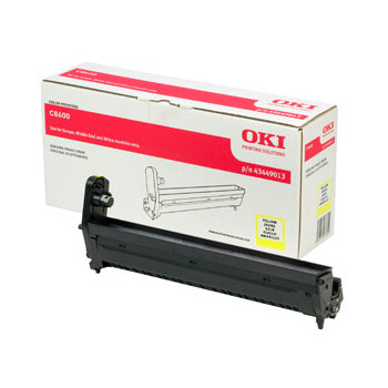 OKI C8600/C8800 drum yellow 20k