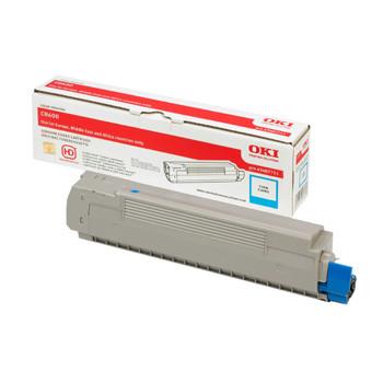 OKI C8600/C8800 toner cyan 6k