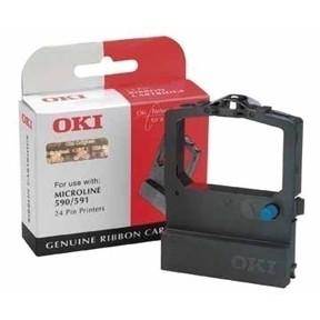 OKI ML380/385/386/390/391/3390/3391 ribbon black