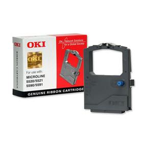 OKI ML5500/ML5520/5590/5591 ribbon  black