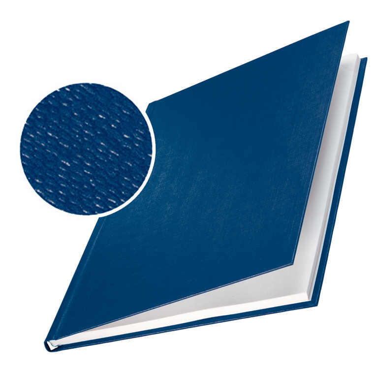 Omslag - Leitz impressBIND blå karton til 35 ark - 10 stk