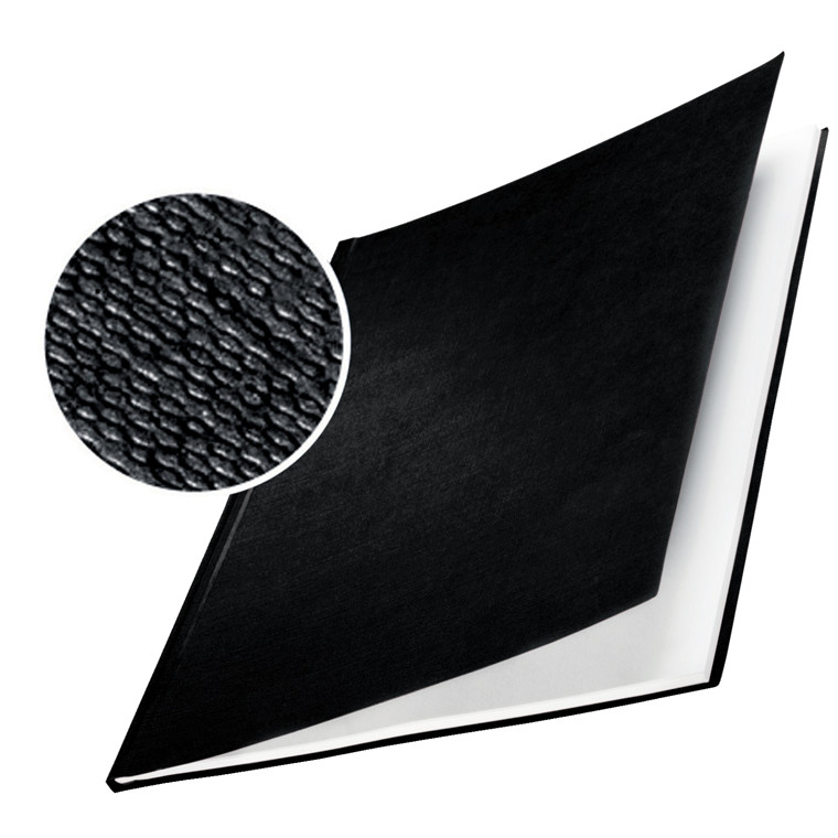 Omslag - Leitz impressBIND sort karton til 105 ark - 10 stk