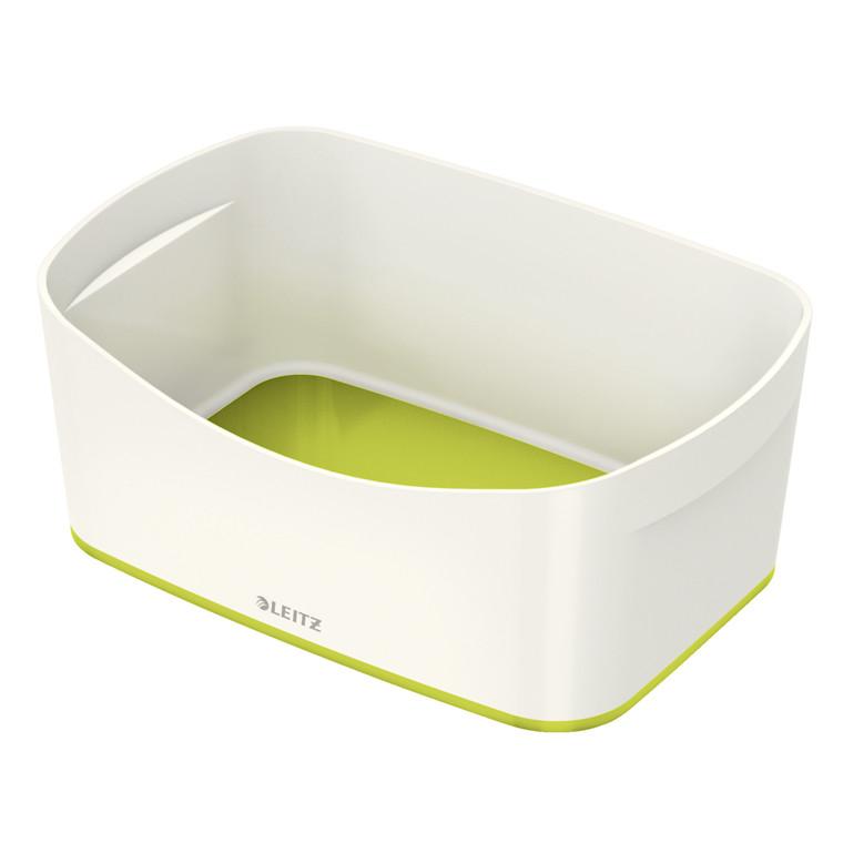 Opbevaringsbakke Leitz MyBox hvid/grøn