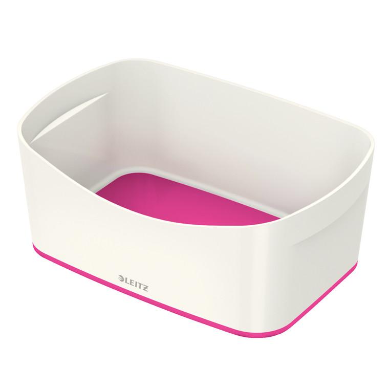 Opbevaringsbakke Leitz MyBox hvid/pink
