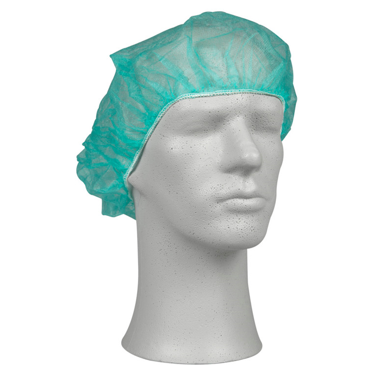Operationshue, Abena, lysegrøn, engangs, nonwoven polypropylen, one size, 53 cm,