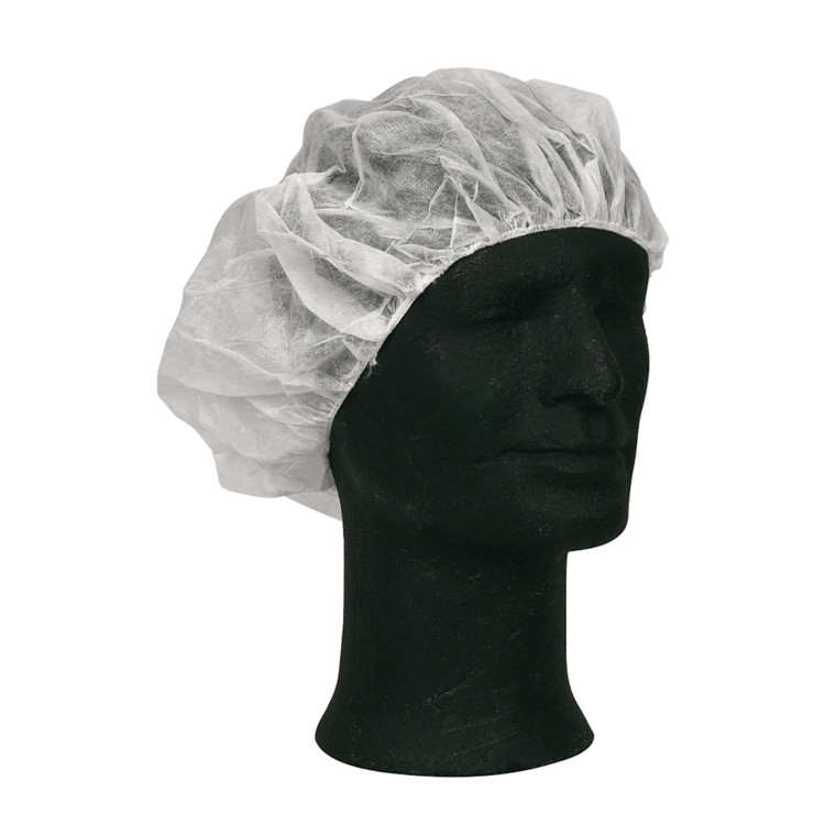 Operationshue, Barrier, Annie, hvid, engangs, nonwoven, 55 cm,