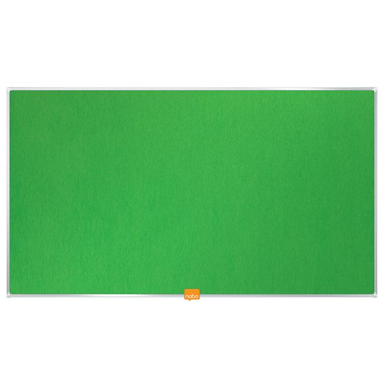 """Opslagstavle Nobo filt widescreen 32"""" grøn 710x400mm"""