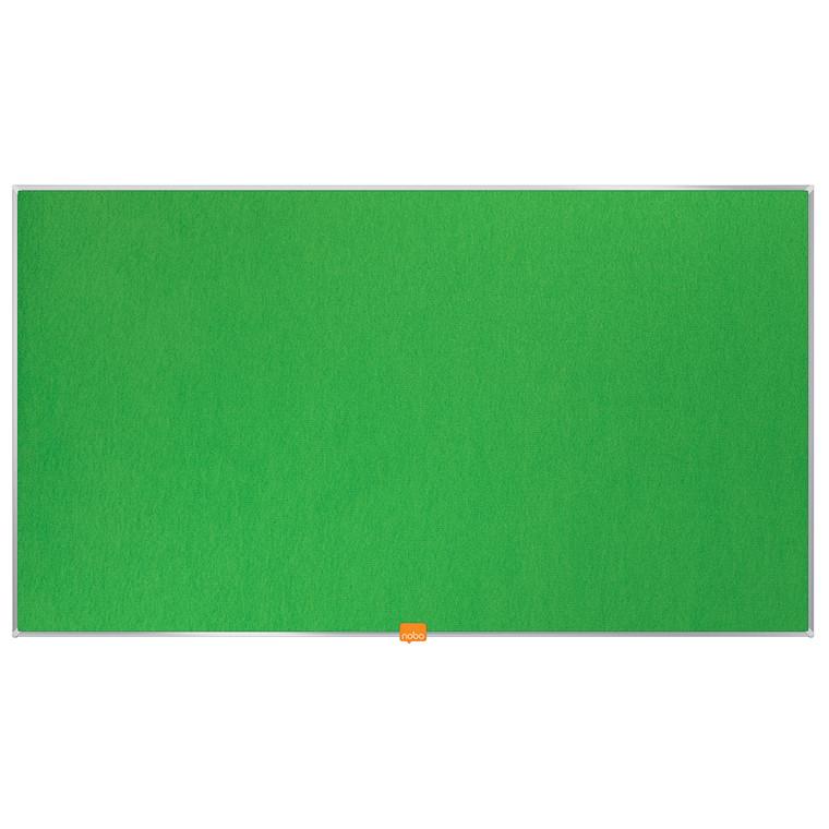 """Opslagstavle Nobo filt widescreen 40"""" grøn"""