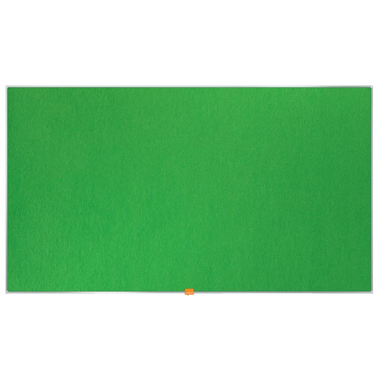 """Opslagstavle Nobo filt widescreen 55"""" grøn"""