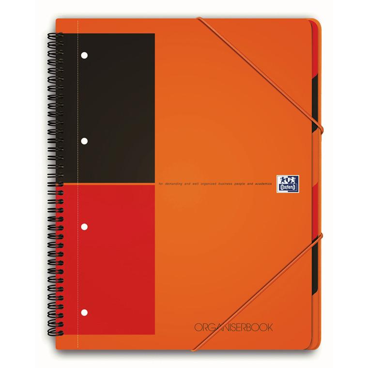 Notesbog Oxford 3-i-1 Organiserbook - linjeret - 80 sider