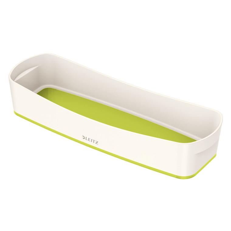 Organiseringsbakke Leitz MyBox Long hvid/grøn