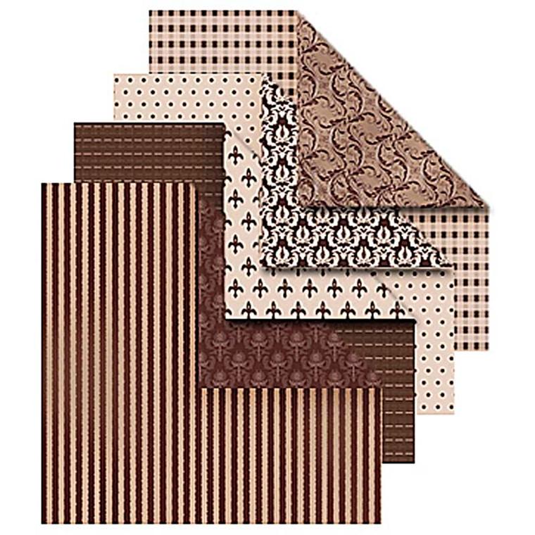 Origamipapir størrelse 10 x 10 cm 80 gram Oslo | 50 ark