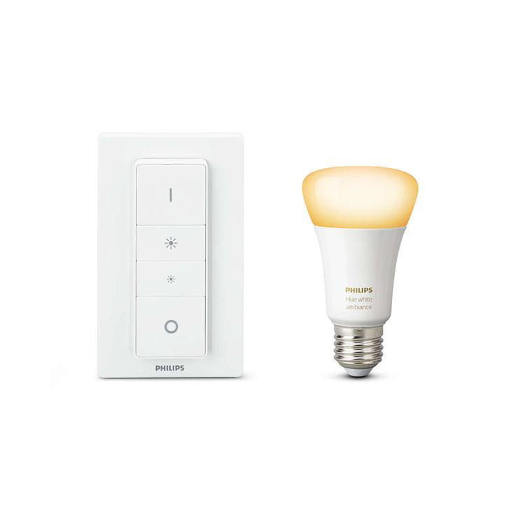 Pære Philips Hue Ambiance E27 med lysdæmperkontakt