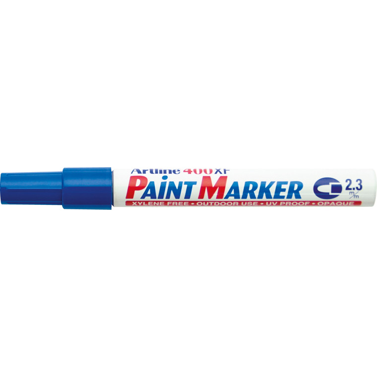Paint marker Artline EK400 blå 2,3mm rund spids