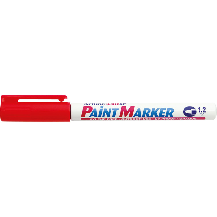 Paint marker Artline EK440 rød 1,2mm rund spids